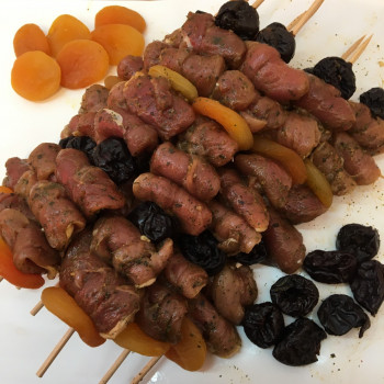 Brochette « maison » Filet de caille